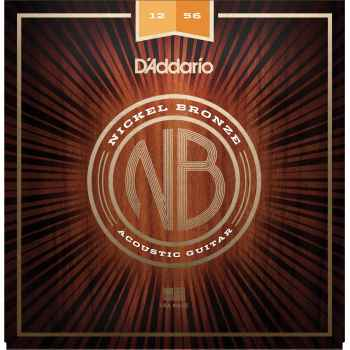 D´addario NB1256 Light Top/ Medium Bottom cuerdas guitarra acústica